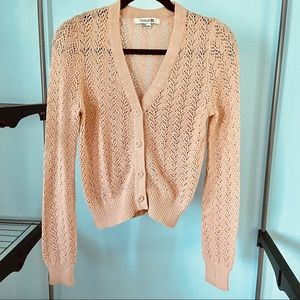 Forever 21 • Open Knit Cardigan
